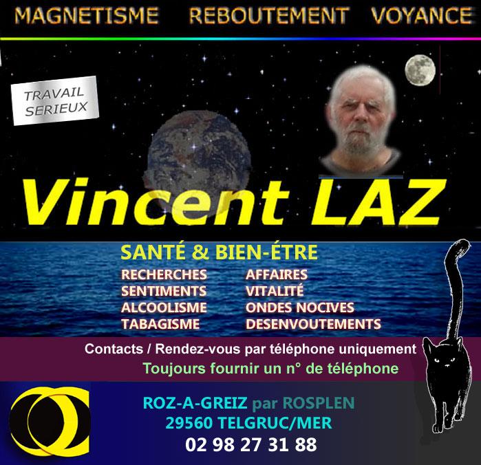 99a7bd30dd3c9 VINCENT LAZ MAGNETISME VOYANCE RECHERCHE ADDICTIONS a TELGRUC FINISTERE